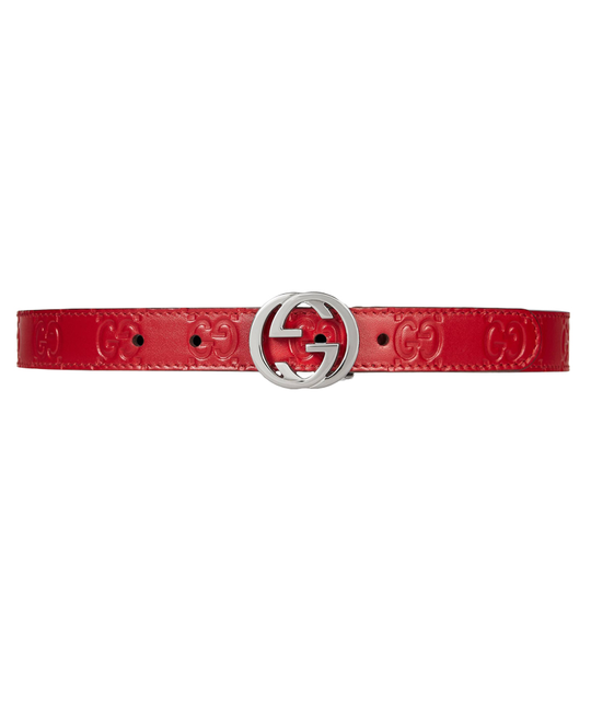 GUCCI GUCCI SIGNATURE BELT