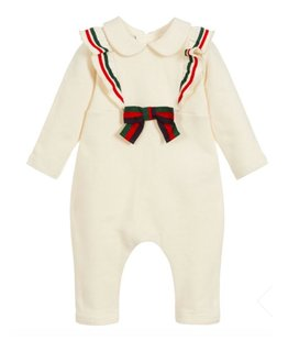 GUCCI BABY GIRLS ONESIE