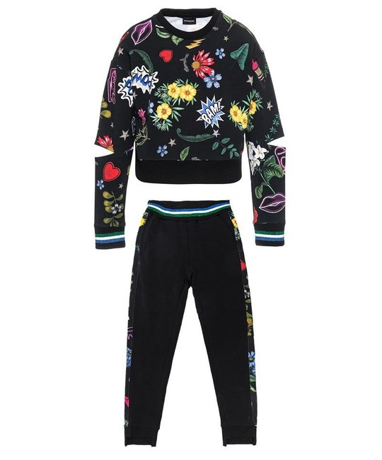 MONNALISA MONNALISA GIRLS JOGGING SUIT