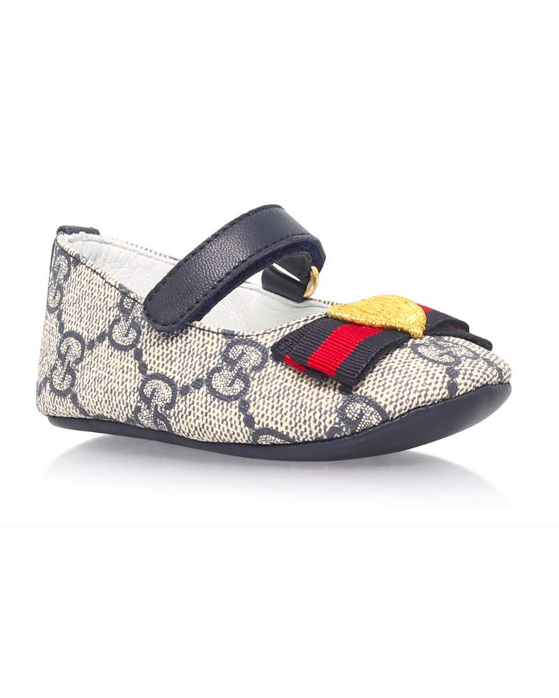 super popular ac305 496a1 GUCCI GUCCI BABY GIRLS ERIN BALLERINA