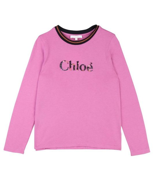 CHLOÉ CHLOÉ GIRLS TOP