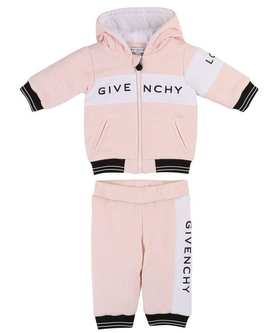 GIVENCHY GIVENCHY BABY GIRLS JOGGING SUIT