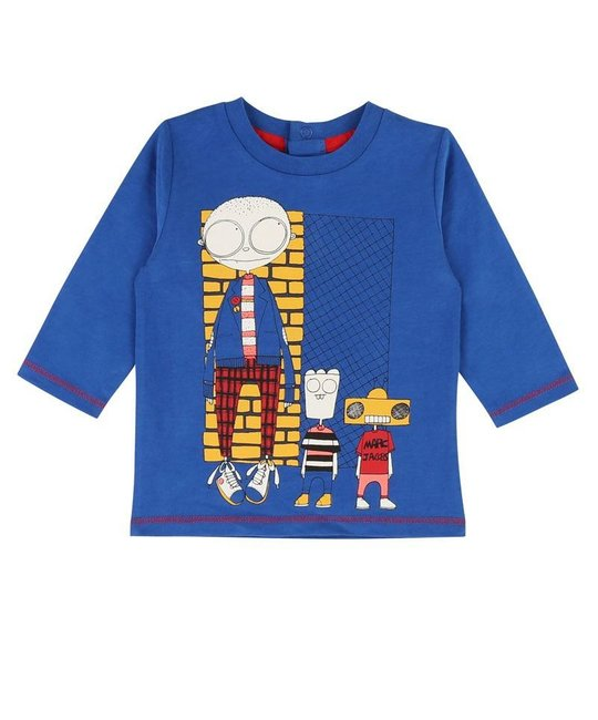 LITTLE MARC JACOBS LITTLE MARC JACOBS BABY BOYS TOP
