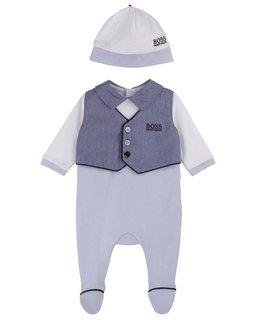 BOSS BABY BOYS ONESIE & HAT