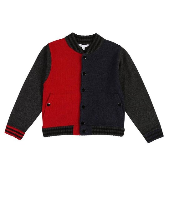 LITTLE MARC JACOBS LITTLE MARC JACOBS BOYS CARDIGAN