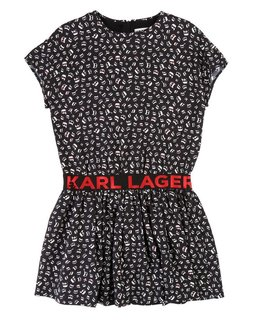 KARL LAGERFELD KIDS GIRLS DRESS