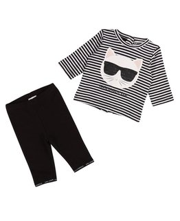 KARL LAGERFELD KIDS BABY GIRLS SET