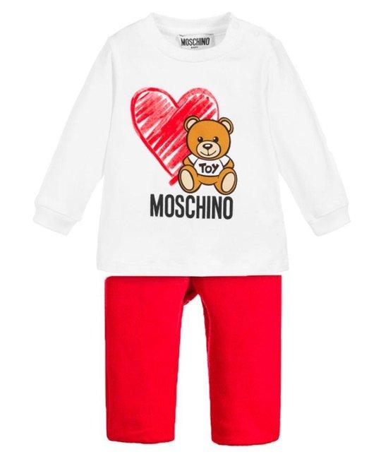 MOSCHINO MOSCHINO BABY GIRLS TRACK SUIT