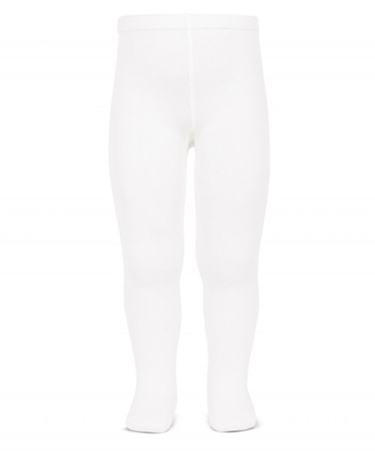 CÓNDOR CÓNDOR COTTON TIGHTS WHITE