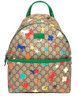 GUCCI RANCH PRINT BACKPACK