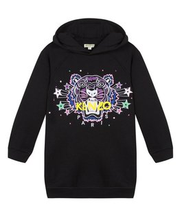 KENZO KIDS GIRLS SWEATER DRESS