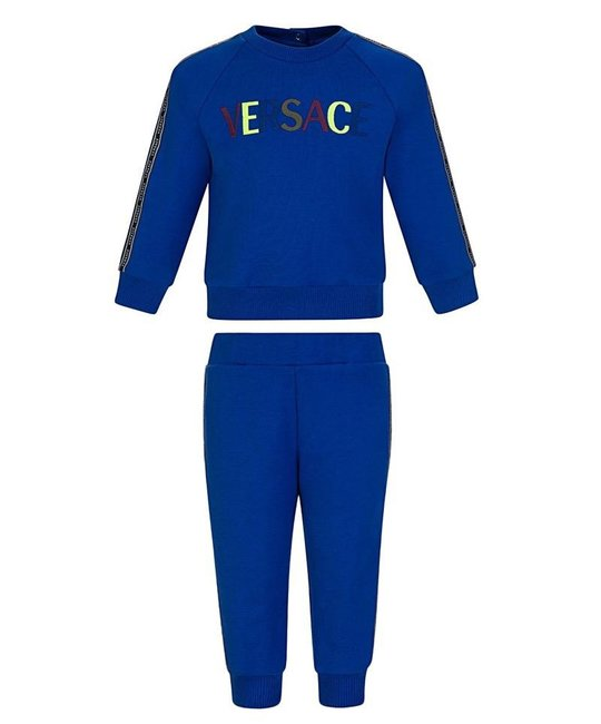 YOUNG VERSACE YOUNG VERSACE BABY BOYS JOGGING SUIT
