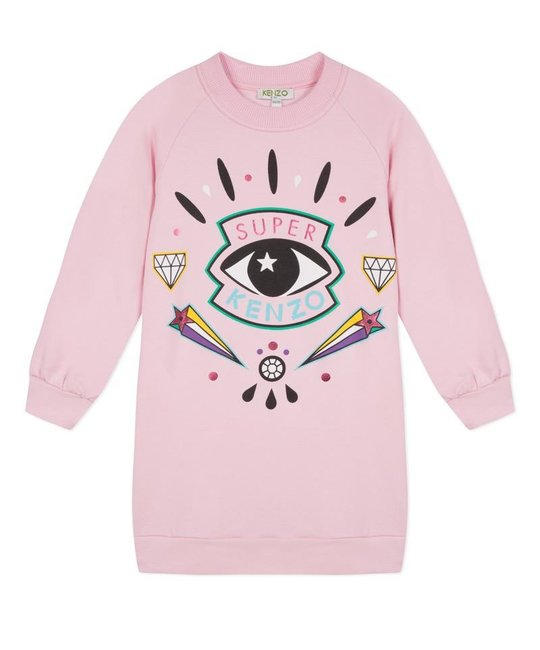 KENZO KIDS KENZO KIDS GIRLS SWEATER DRESS