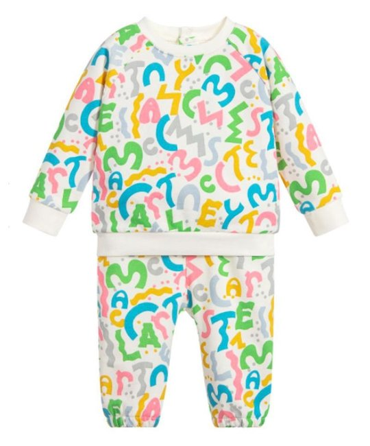 STELLA MCCARTNEY KIDS STELLA MCCARTNEY KIDS BABY GIRLS TRACKSUIT
