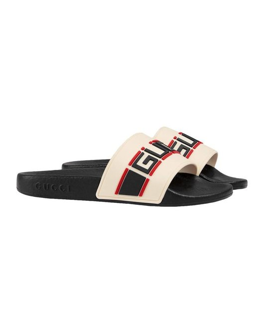 GUCCI GUCCI UNISEX PURSUIT SLIDES