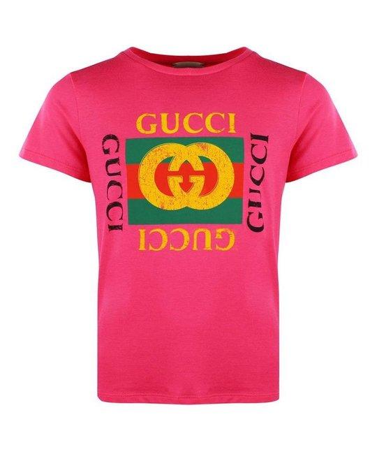 GUCCI GUCCI GIRLS TEE SHIRT