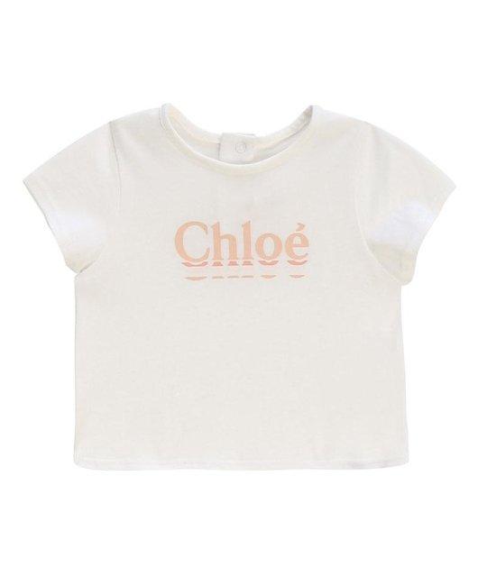 CHLOÉ CHLOÉ BABY GIRLS TEE SHIRT