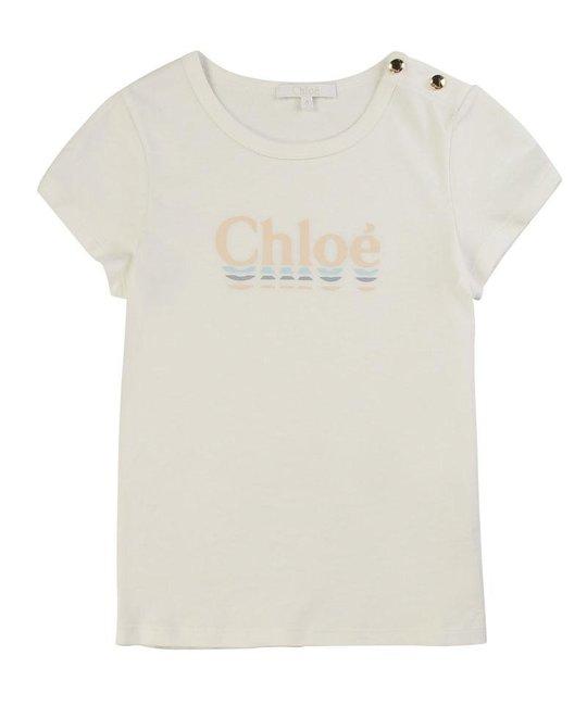 CHLOÉ CHLOÉ GIRLS TEE SHIRT