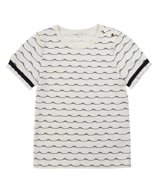 CHLOÉ CHLOÉ GIRLS TEE SHIRT