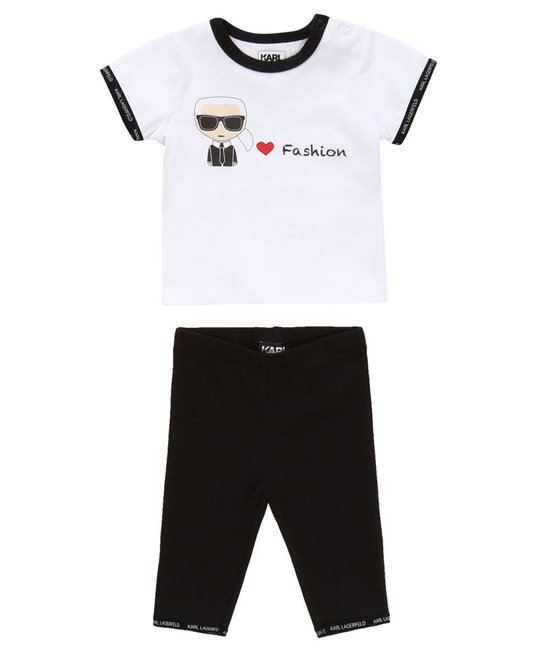 KARL LAGERFELD KIDS KARL LAGERFELD KIDS BABY GIRLS SET