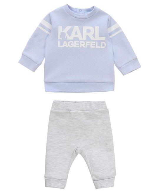 KARL LAGERFELD KIDS KARL LAGERFELD KIDS BABY BOYS JOGGING SUIT