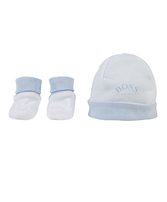 BOSS BOSS BABY BOYS HAT & SLIPPERS