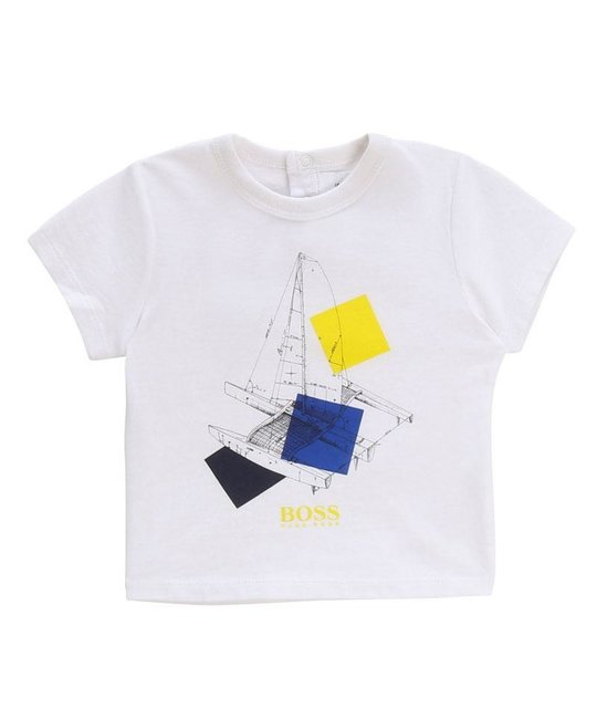 BOSS BOSS BABY BOYS TEE SHIRT