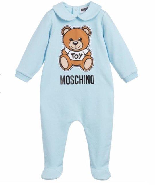 MOSCHINO MOSCHINO BABY BOYS ONESIE