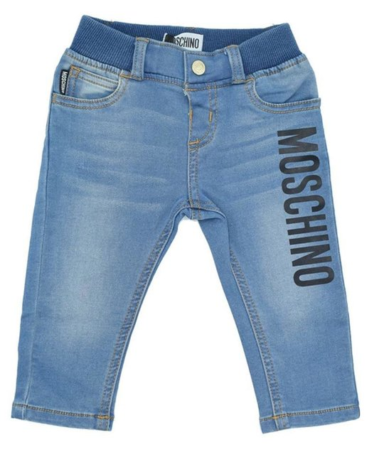 MOSCHINO MOSCHINO BABY BOYS DENIM