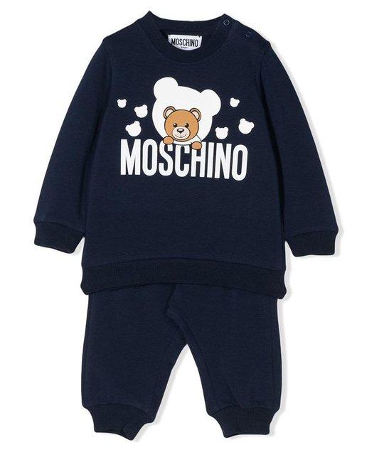MOSCHINO MOSCHINO BABY BOYS JOGGING SUIT