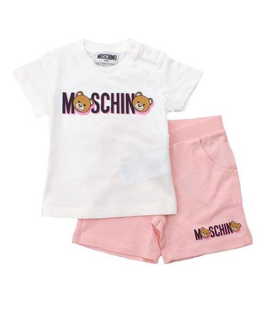 MOSCHINO MOSCHINO BABY GIRLS SET