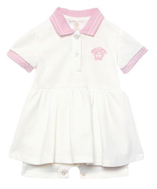 VERSACE VERSACE BABY GIRLS DRESS