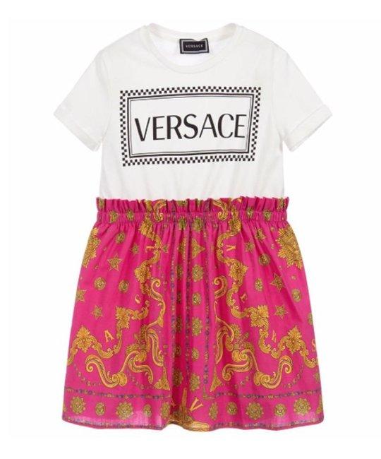 VERSACE VERSACE GIRLS DRESS