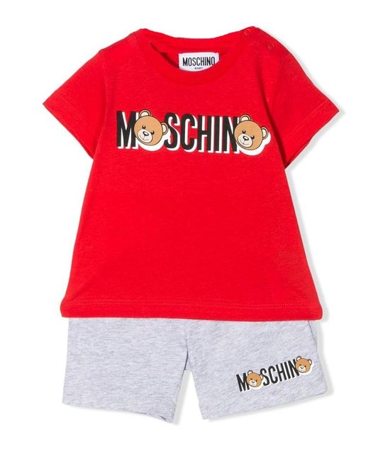 MOSCHINO MOSCHINO BABY BOYS SET