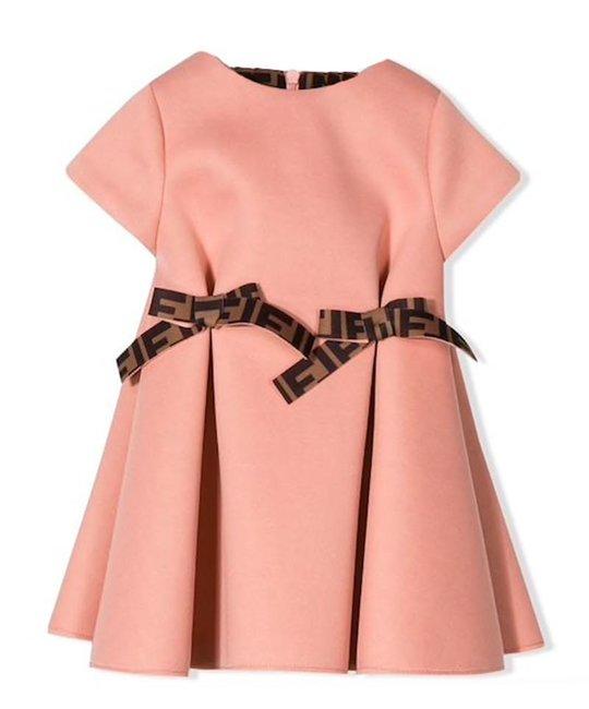 FENDI FENDI BABY GIRLS DRESS