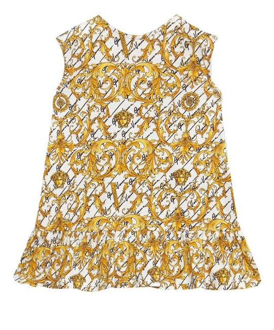 VERSACE VERSACE BABY GIRLS DRESS