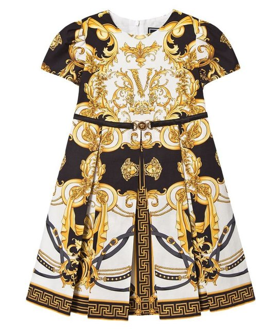 VERSACE VERSACE GIRLS DRESS