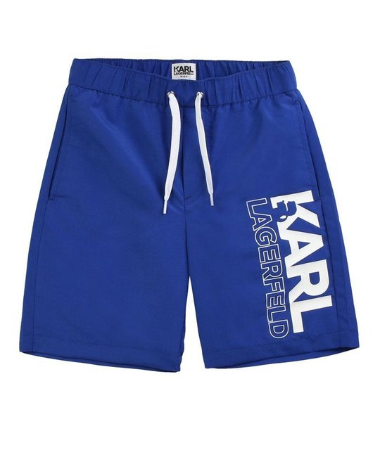 KARL LAGERFELD KIDS KARL LAGERFELD KIDS BOYS SWIM SHORTS