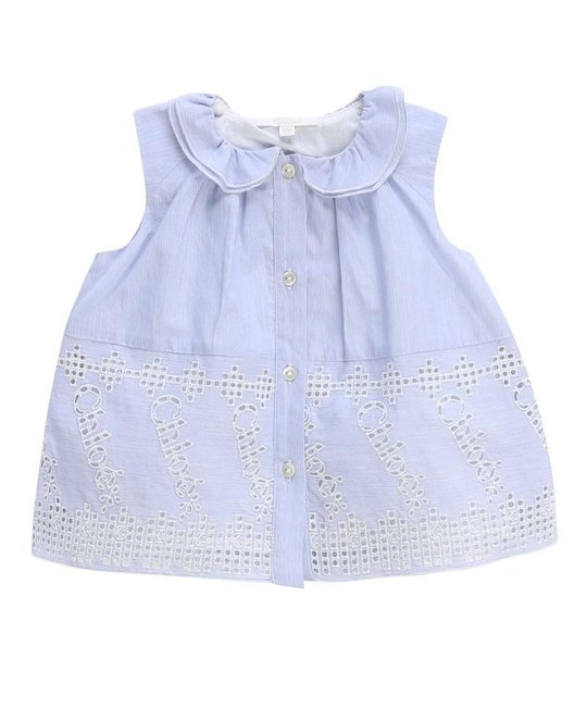 CHLOÉ CHLOÉ BABY GIRLS BLOUSE