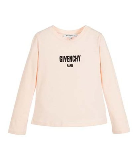 GIVENCHY GIVENCHY GIRLS LONG SLEEVE TOP