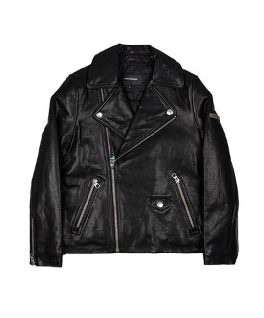 MACKAGE MACKAGE LEATHER BIKER JACKET