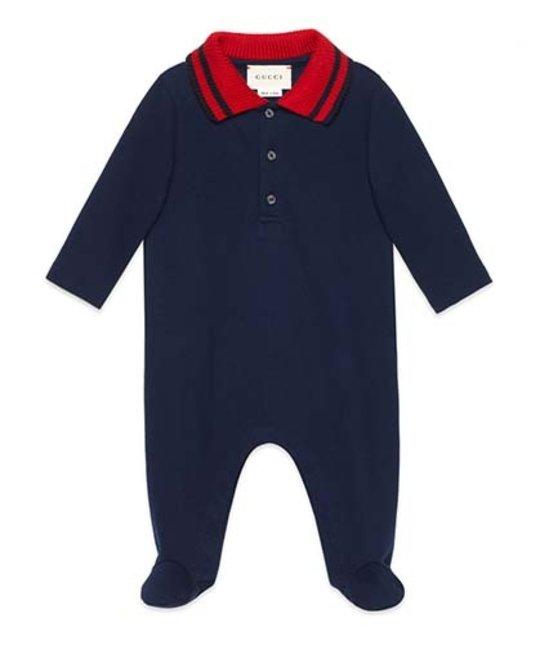25104f2c1055 GUCCI GUCCI BABY BOYS ONESIE - Designer Kids Wear