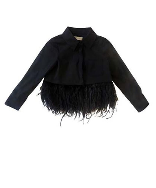 MILLY MINIS MILLY MINIS GIRLS BLOUSE