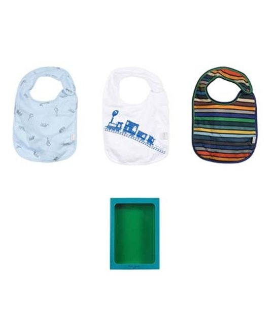 PAUL SMITH JUNIOR PAUL SMITH JUNIOR BIB SET
