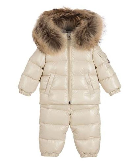 38e7bef44 MONCLER MONCLER BABY UNISEX NEW REMY SNOWSUIT - Designer Kids Wear