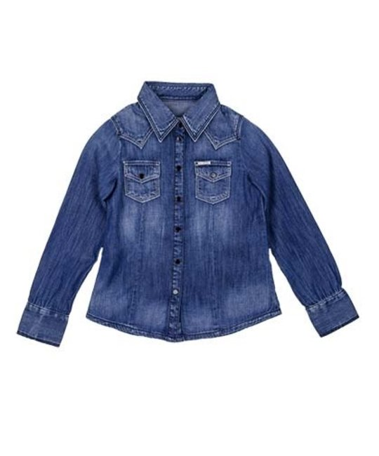 DIESEL DIESEL GIRLS DENIM SHIRT
