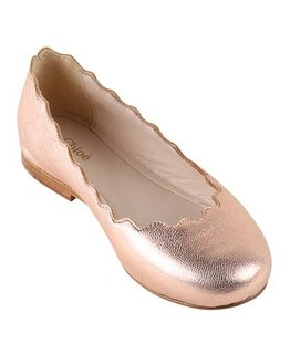 CHLOÉ GIRLS BALLERINA SHOES
