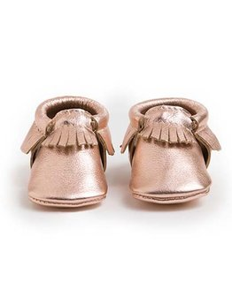 FRESHLY PICKED ROSE GOLD MOCCASIN