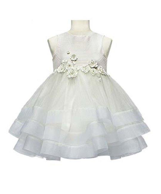 LITTLE MISS AOKI LITTLE MISS AOKI GIRLS DOUBLE LAYER DRESS