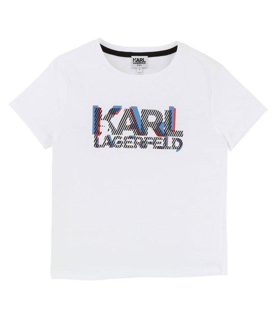 KARL LAGERFELD KIDS KARL LAGERFELD KIDS BOYS TEE SHIRT